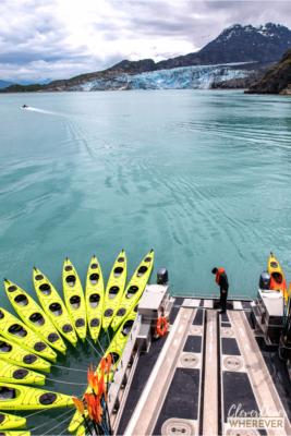 Glaciers in Alaska - Lamplugh Glacier #glacier #alaskatravel #alaskacruise #travelingtoalaska #thingstodoinalaska