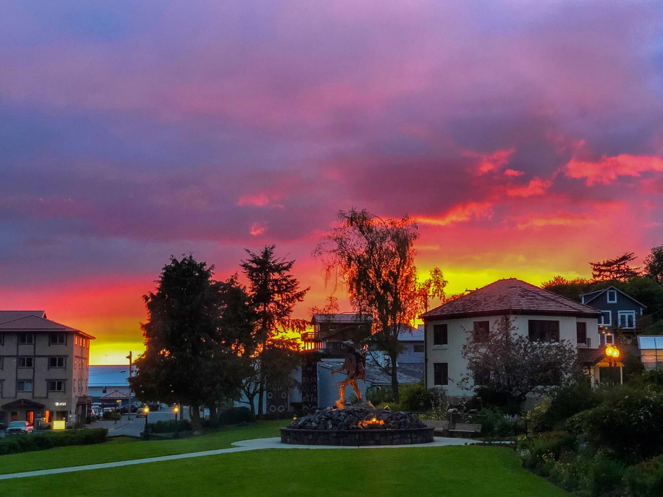 Sitka Alaska sunset