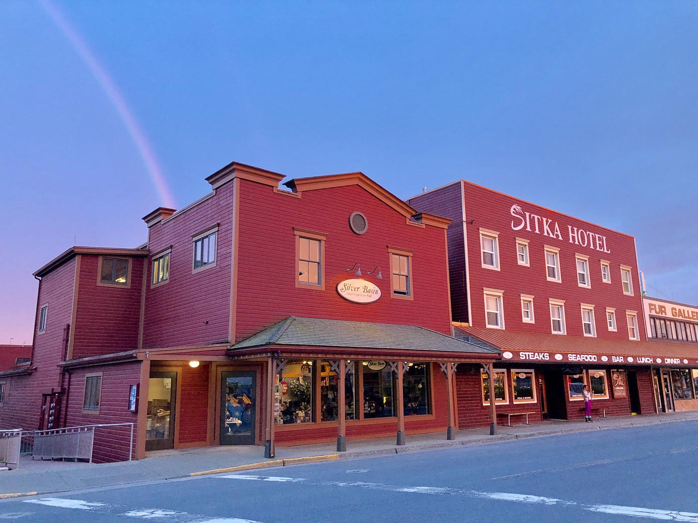 Sitka Hotel Restaurant Alaska