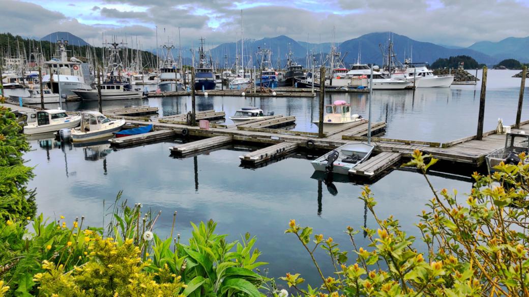 Waterfront Sitka Alaska
