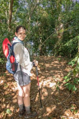 Juliana Dever Hiking Panama on an Adventure Cruise